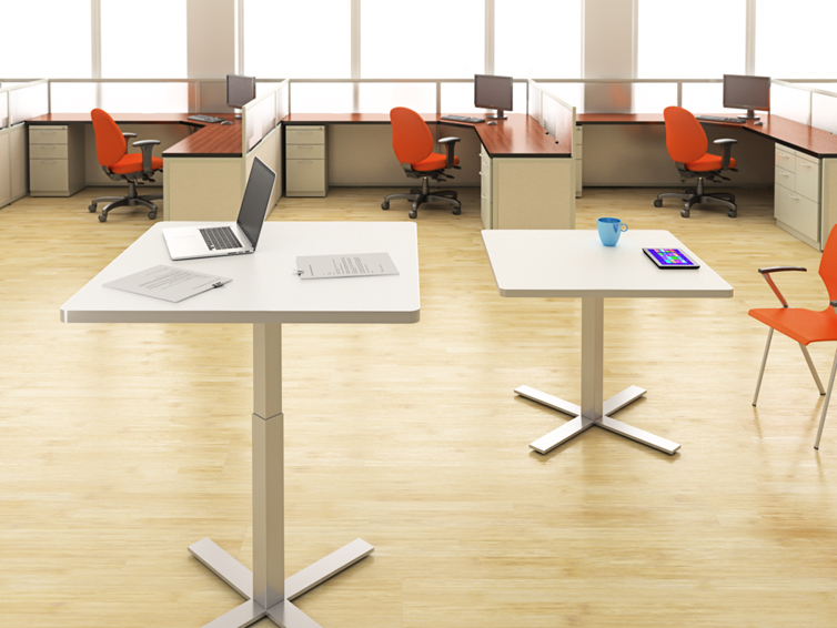 Attractive Modular Office Furniture. Adjustable Height Office  Tables_Interior Concepts 6