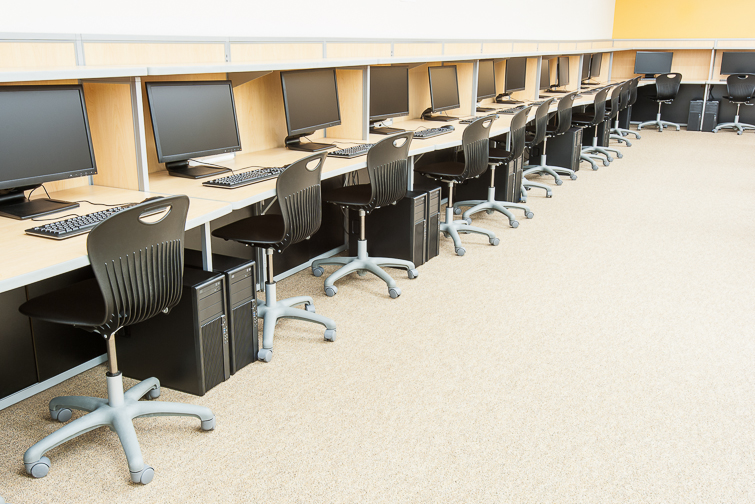 Project profile frisco isd tx quality school furniture for Computer lab chairs for schools