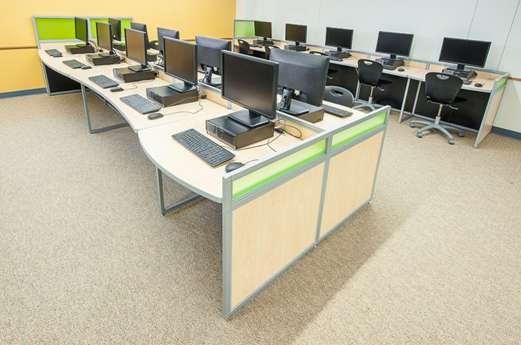 Good Computer Lab Furniture Customized For Any Space By Interior Concepts Gallery