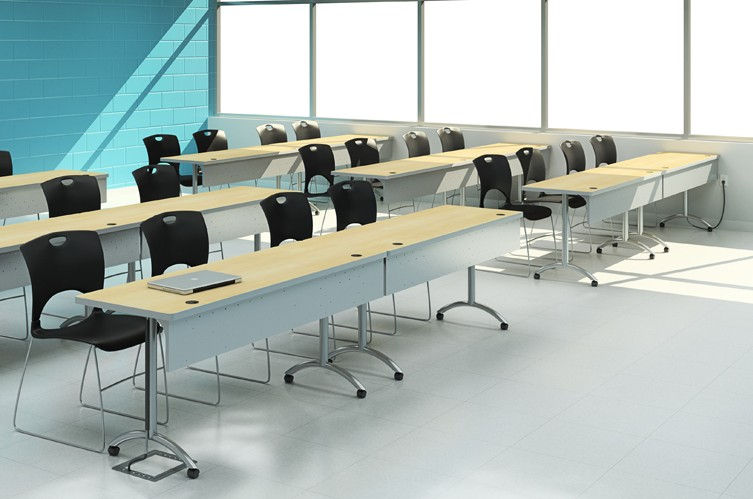 Computer tables designed manufactured for your school or Computer office interior design