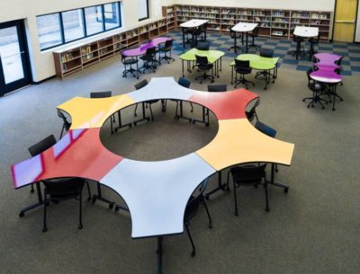 Custom unique shape tables for the office by interior concepts - What do you learn in interior design school ...