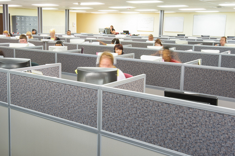 Call Center Furniture