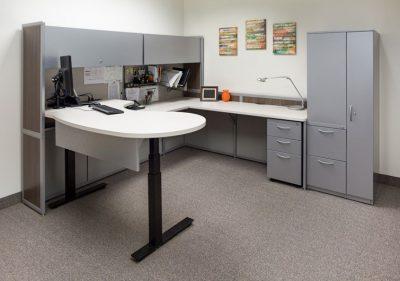 Interior Concepts Standing Desk Ergonomic Office