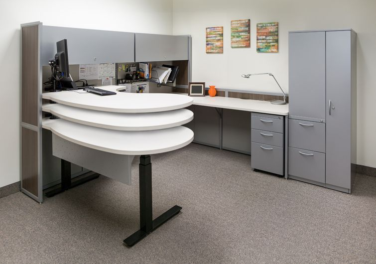 interior concepts standing desk - ergonomic office furniture solutions