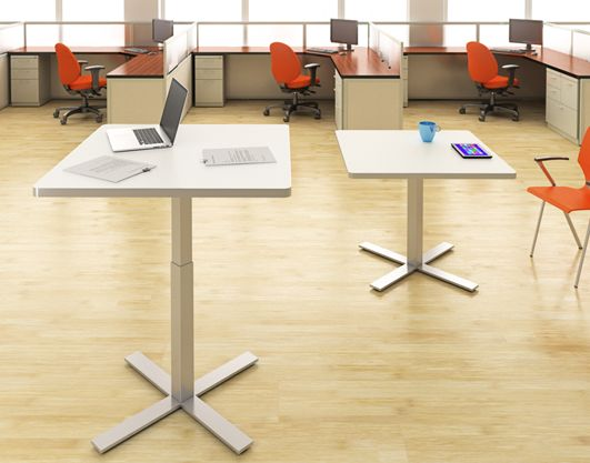 Adjustable Height Tables for the Adaptable fice Enviornement