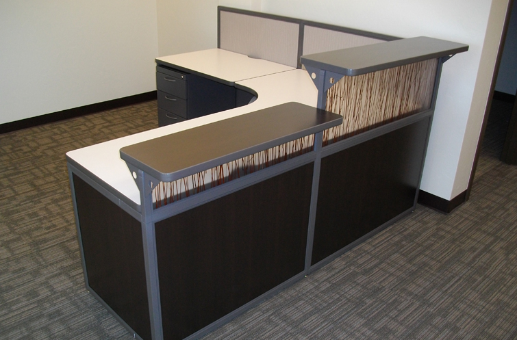 Office Reception Desks Designed And Manufactured By