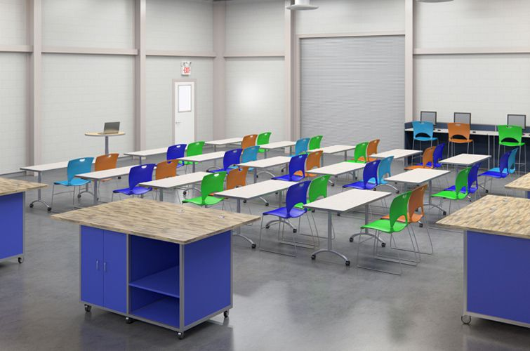 Lab Furniture Concept Magnificent Stem Lab & Technology Furniture That Is Designed To Fit Your Needs Inspiration Design