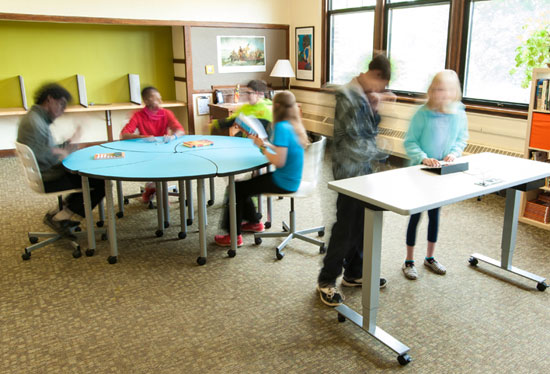 Classroom Design Ergonomics ~ Innovative school tables for your st century learning