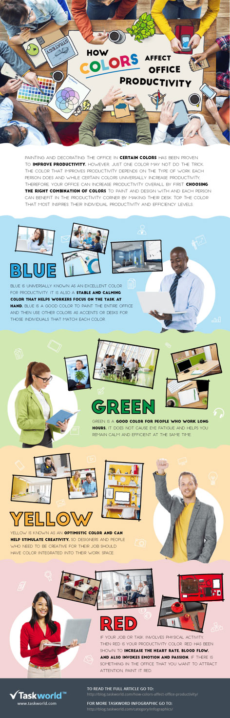 How Colors Affect Office Productivity