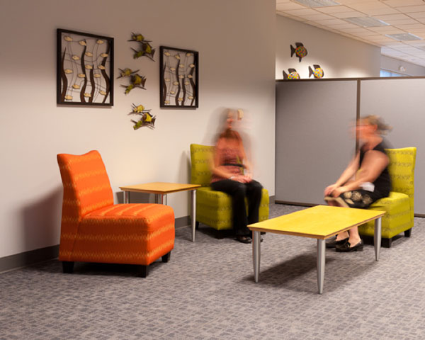 Work Lounge Area