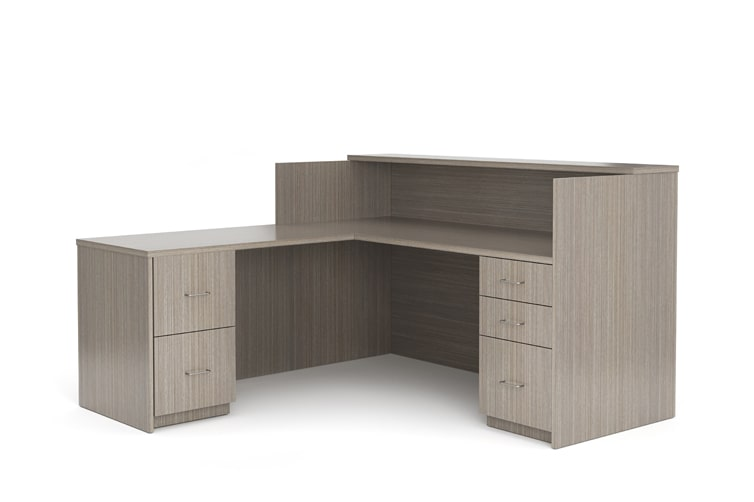 Aveera Casegoods Reception Desk 1 Counter min