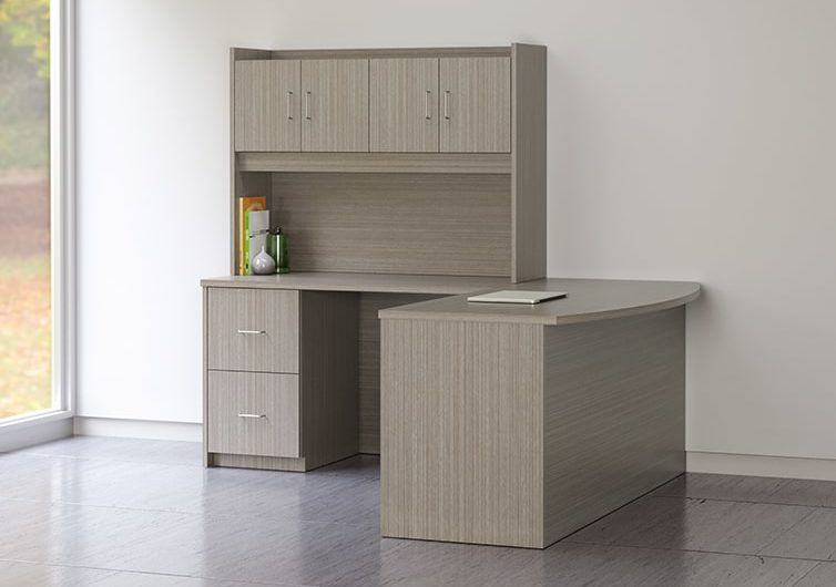 Aveera Casegoods L Shaped Desk 2